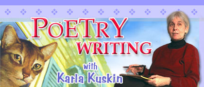Poetry Writing with Karla Kuskin